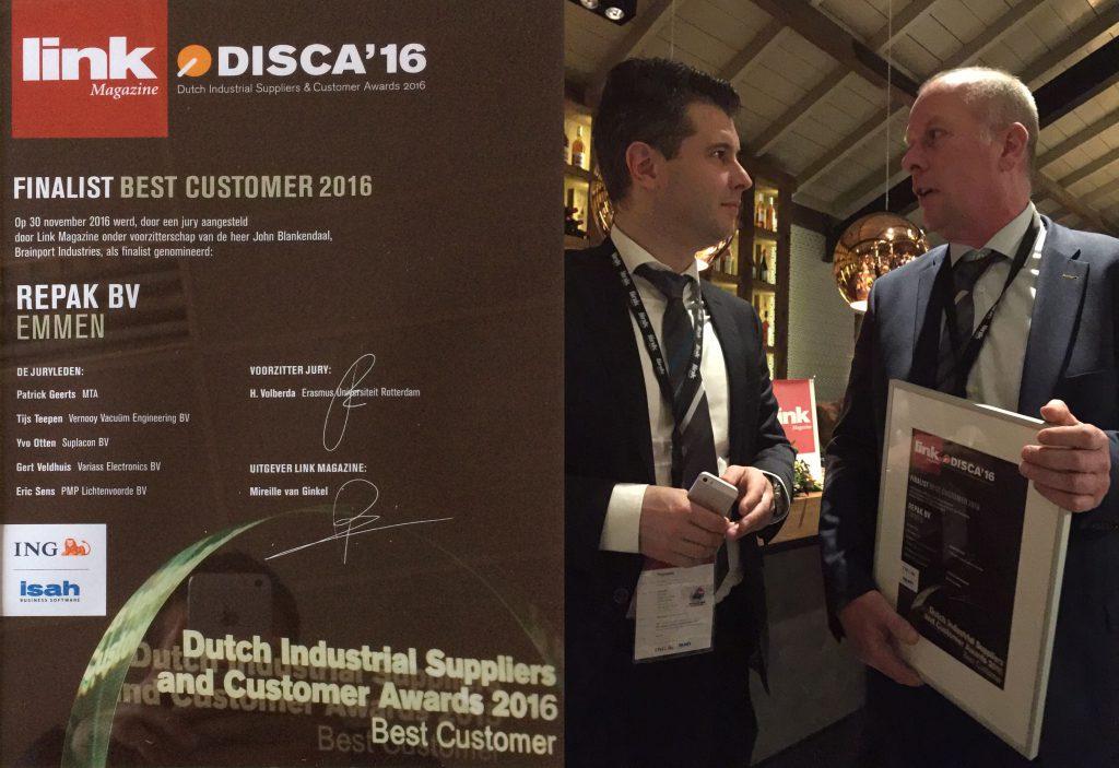 DISCA2016 Award